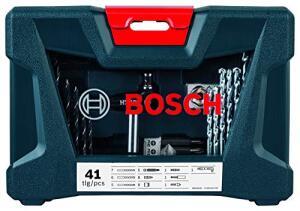 [PRIME] Kit de Pontas e Brocas Bosch V-Line - 41 unidades | R$90