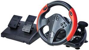 [PRIME] Volante Gamer com Marcha e Pedal, Multilaser, JS087 | R$480