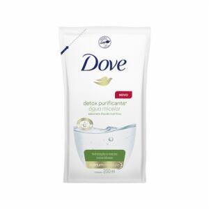 Sabonete Líquido Dove Agua Micelar Detox Purificante Refil 200ml   R$3,99