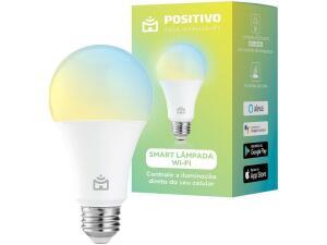 [CLIENTE OURO] Smart Lâmpada Positivo Wi-Fi 9W | R$77