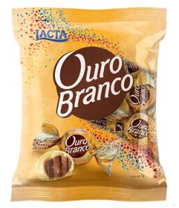 Chocolate Bombom Ouro Branco Pacote c/ 1kg - Lacta   R$30