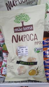 [Santos - SP] Pipoca orgânica Nupoca Mãe Terra | R$3,75