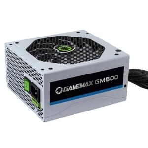 [AME R$290,45] Fonte De Alimentacao Branca 500w Gamemax Gm500w 80 Plus Bronze R$299
