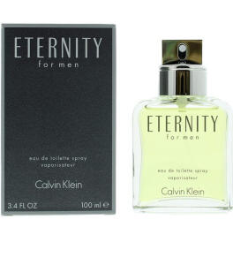 Calvin Klein Eternity Masculino Eau De Toilette 100Ml - R$200
