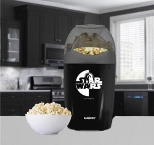 Pipoqueira Elétrica Star Wars Mallory Preto R$96