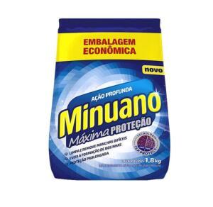 (Cliente Ouro) Sabão em Pó Minuano Máxima Proteção - Ação Profunda 1,8kg R$8