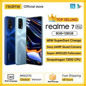 Smartphone Realme 7 Pro versão global   R$1551