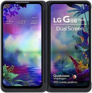 Smartphone LG G8X 128GB Preto 4G Tela 6.4 Pol. Câmera Dupla 13MP Selfie 32MP Android 9.0 Pie