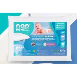 Travesseiro Visco Elástico Nasa Recém Nascido Baby Nap | R$ 9