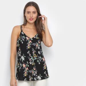 Regata Drezzup Estampada Feminina - Floral | R$20