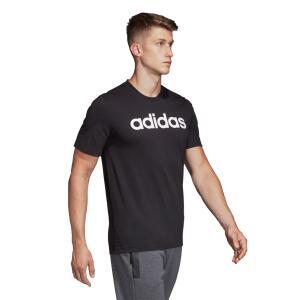 Camiseta Adidas Lin Masculina - Preto e Branco | R$50