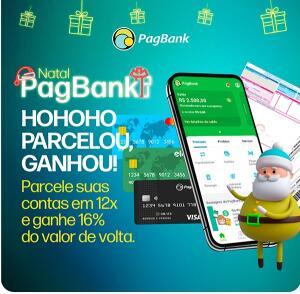 Fim de ano com até 16% de cashback no PagBank