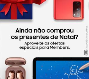 Natal com Members - Aproveite as ofertas especiais
