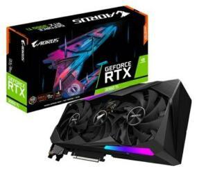 Placa de Vídeo Gigabyte NVIDIA GeForce RTX 3060 Ti, 8GB, AORUS Master - GV-N306TAORUS M-8GD | R$ 4.343