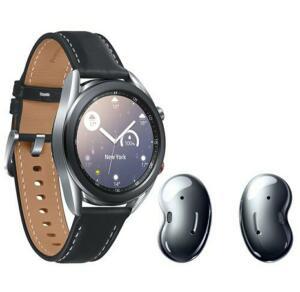 Smartwatch Samsung Galaxy Watch3 41mm LTE + Fone de Ouvido Samsung Galaxy Buds Live | R$ 2.400