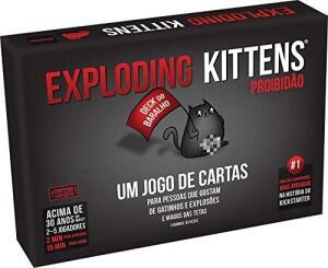 Exploding Kittens: Proibidão   R$ 120