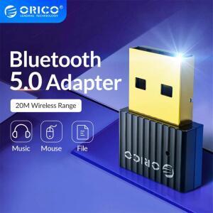 Orico mini sem fio usb bluetooth dongle adaptador 5.0 | R$22