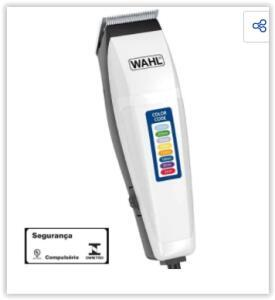 Máquina de Cortar Cabelo Wahl Clipper Color Code | R$ 112