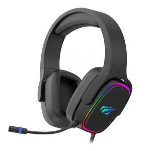Headset Gamer Havit H2029U, RGB, USB, Black | R$184