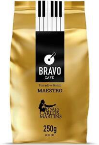 [PRIME] Bravo Café Maestro Torrado e Moído 250g | R$ 12