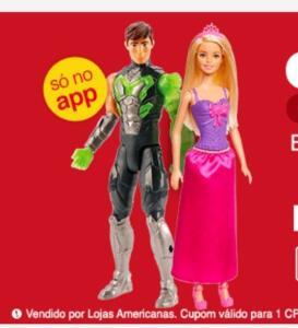 [APP] Barbie ou Max Steel | R$ 20