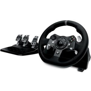 Volante Logitech G920 Driving Force para Xbox One e PC R$1764