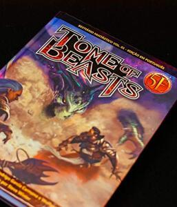 Tome Of Beasts - Bestiário Fantástico - Vol 01 - R$175