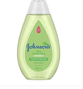 Shampoo Infantil Cabelos Claros, Johnson's, 400ml - R$7