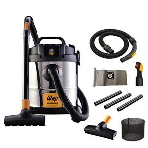 Aspirador de Água e Pó, WAP, GTW Inox 12, Prata/Preto, 220V - R$299