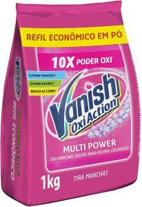 [PRIME] Tira Manchas em Pó Vanish Oxi Action Pink, 1kg   R$ 20