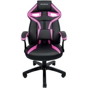 Cadeira Gamer MX1 Preto e Rosa - Mymax
