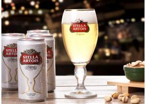 Kit Cerveja Stella Artois American Standard Lager - 269ml Cada 8 Unidades com 1 Taça R$24