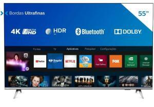 Smart Tv 55 Polegadas Philips 55PUG6654 4K | R$ 2.292