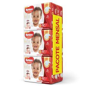 Huggies Pacote Mensal Supreme Care Mega G, 192 Fraldas R$152