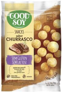 Snack GoodSoy Churrasco – Sem glúten, sem lactose - Snack Saudável – 25g R$1,10
