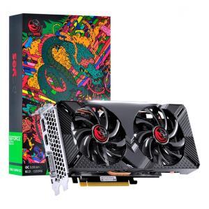 Placa de Vídeo PCyes NVIDIA Geforce GTX 1660 OC, Dual-Fan, 6GB   R$1519