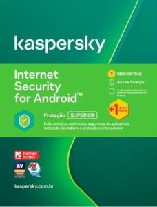 Kaspersky Internet Security 2020 para Android 1 Dispositivo - Digital para Download - R$6