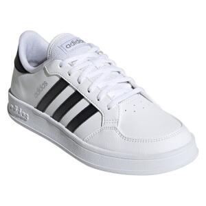 Tênis Adidas Breaknet Feminino - Branco e Preto - R$112