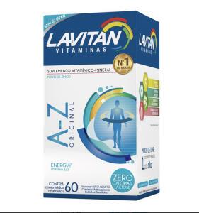LAVITAN A-Z 60 COMPRIMIDOS - R$13
