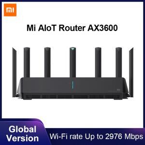 Roteador Xiaomi AX3600 Wifi 6, 2976 Mbs   R$524