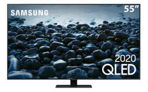 "Smart TV QLED 55"" 4K Samsung 55Q80T | R$4.749"