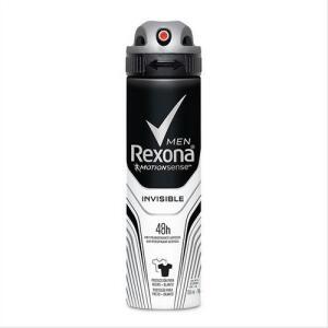 [R$5,62 cada] 6 Un. Desodorante Rexona Aerosol Men Invisible 150ml | R$34