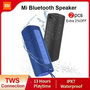 Caixa de Som Portátil Xiaomi Mi Speaker com 16W TWS, IPX7   R$263