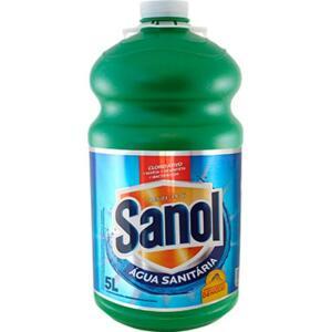 [APP] Água sanitária SANOL 5L | R$6