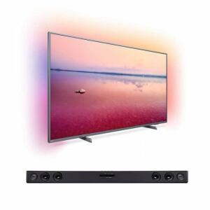"Smart TV LED Ambilight 65"" Philips 65PUG6794/78 e Soundbar LG SK1D ABRALLK 2.0 Canais   R$ 3599"