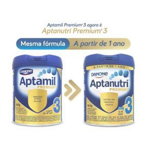 Fórmula Infantil Aptanutri Premium 3, 800g R$34