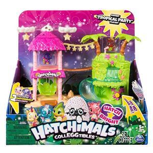 Bonecos Colecionaveis Hatchimals Colleggtibles Playset Ilha Tropical | R$120