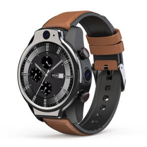 Smartwatch Lemfo Lem 14 64G 4G À Prova D'água Dual Câmera 1.600mAh   R$818