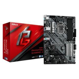 Placa-Mãe ASRock B460 Phantom Gaming 4, Intel LGA 1200, ATX, DDR4 - R$700