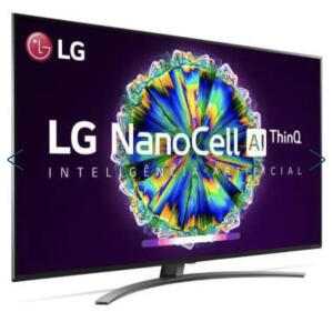 "Smart TV LG 65"" NanoCell Led Ultra HD 4K - R$5999"